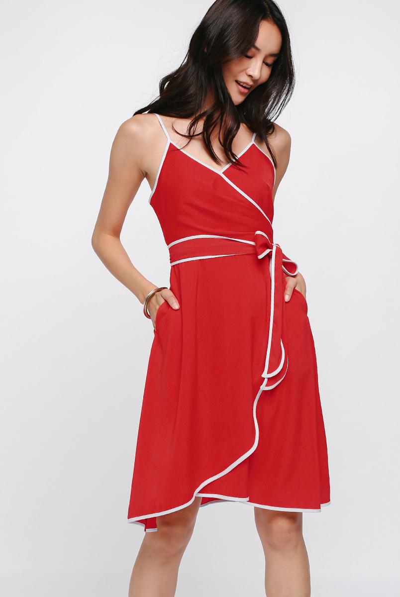 Onika Contrast Dress