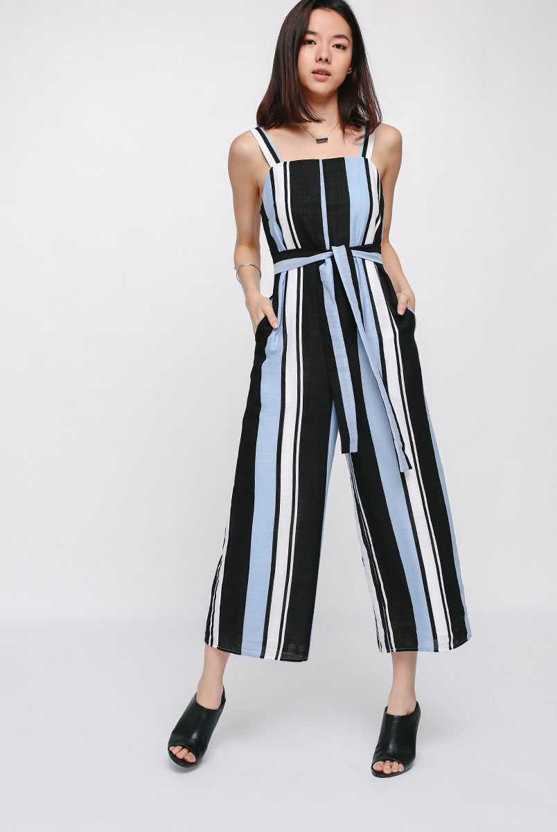 Jorsyth Striped Jumpsuit