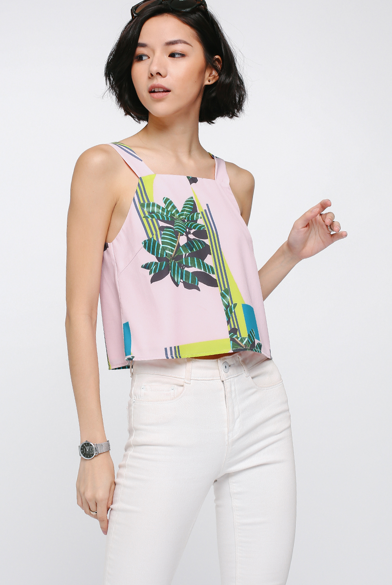 Eunotia Printed Top
