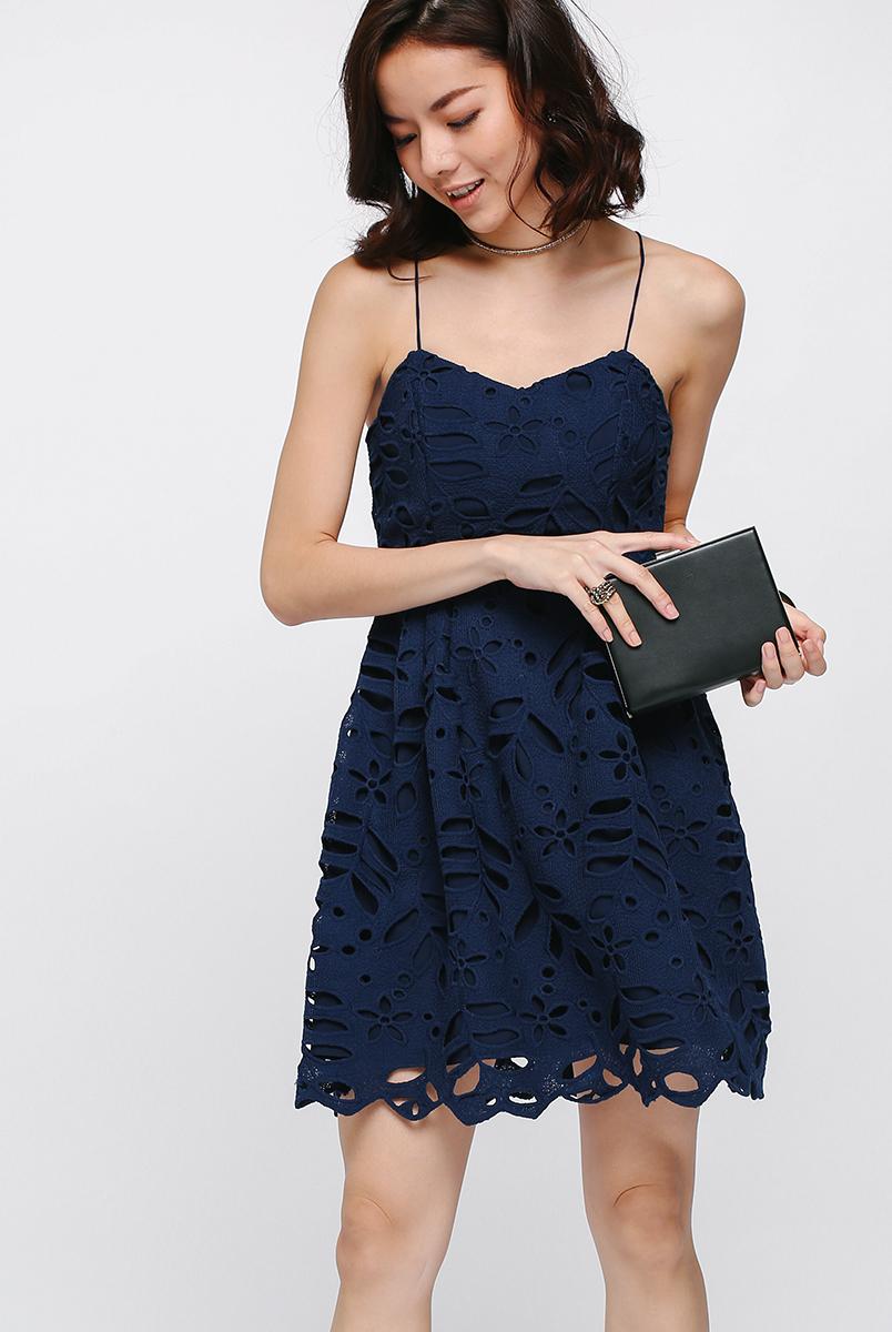 Larynx Lace Dress