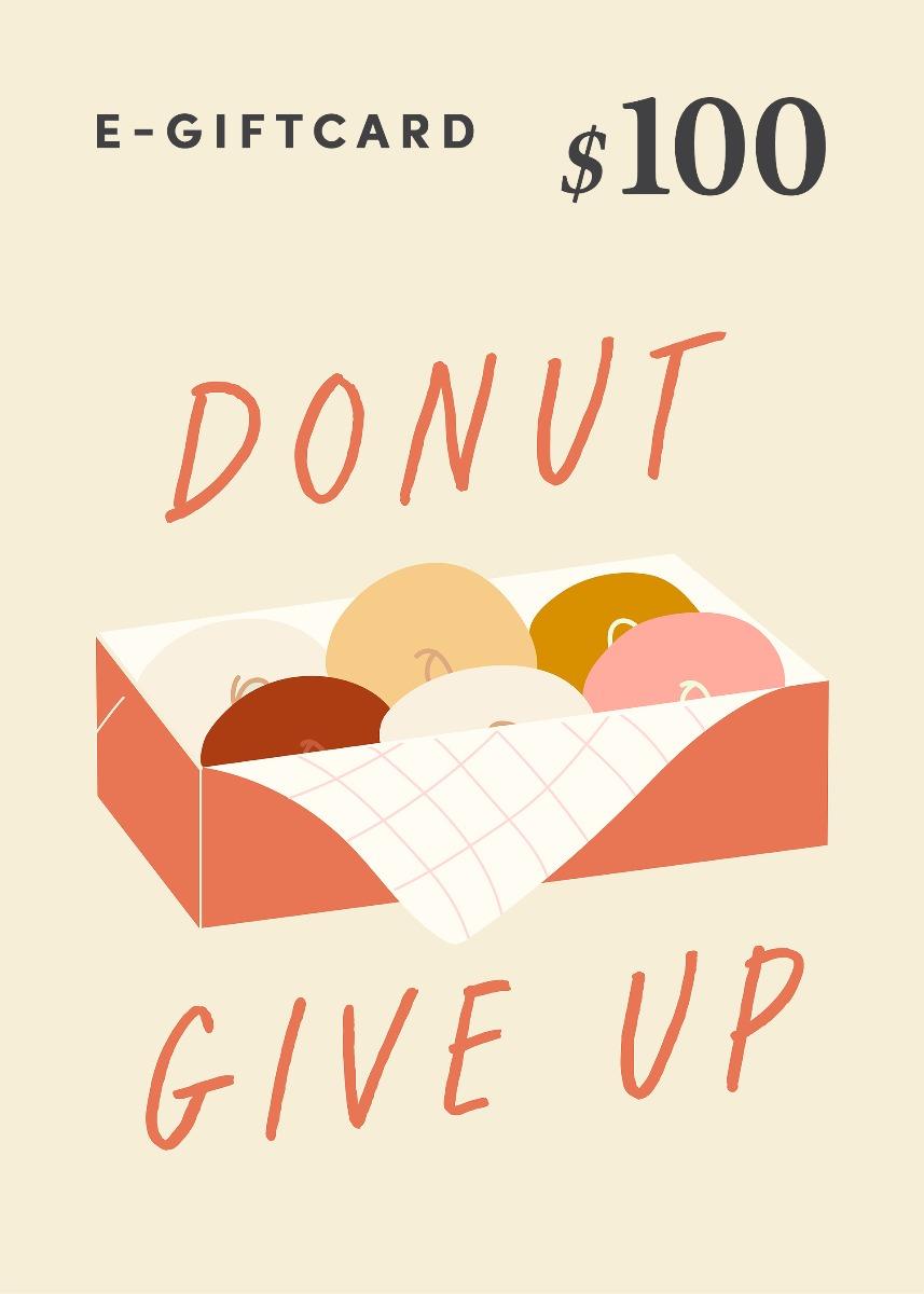 Love, Bonito e-Gift Card - Donut Give Up! - US$100