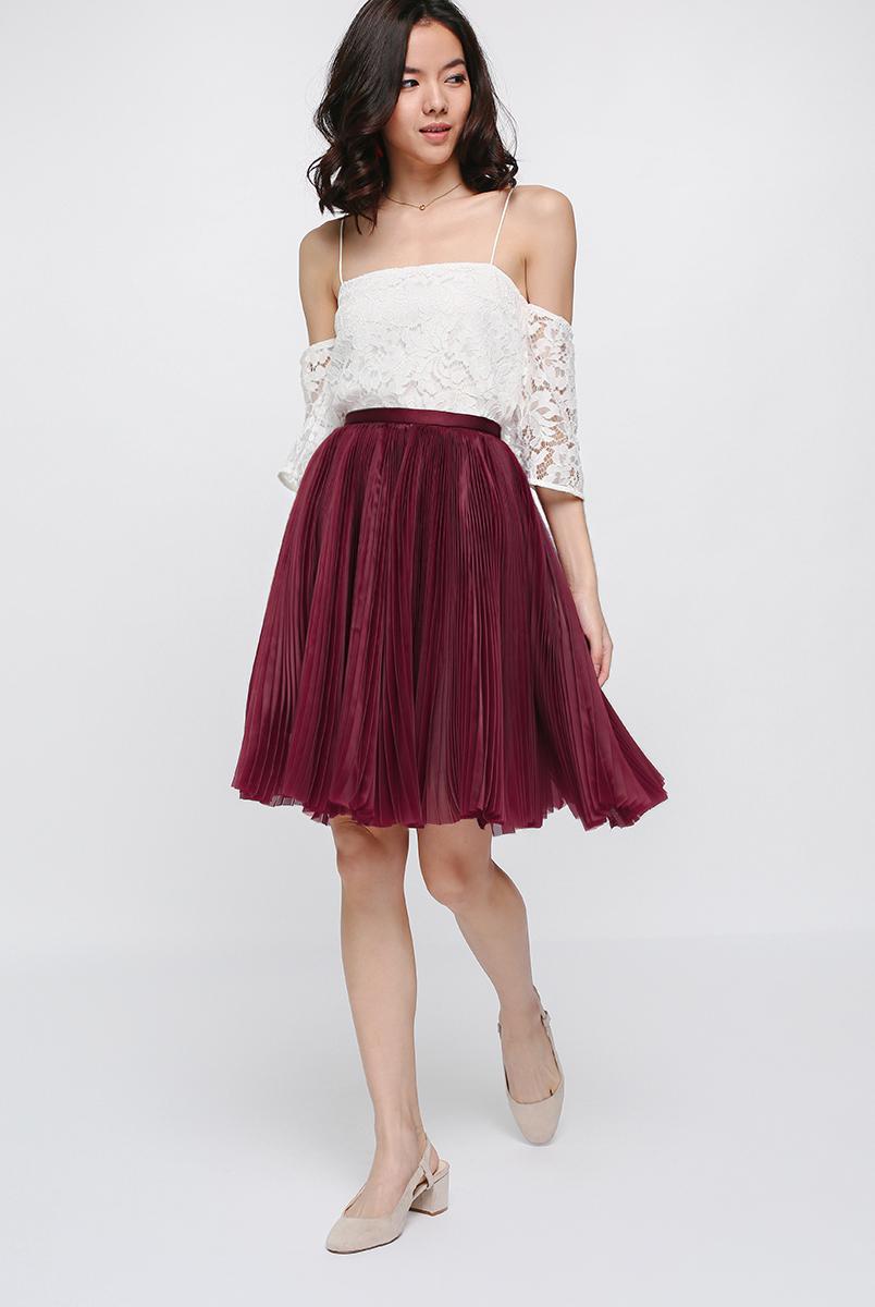 Malia Pleated Skirt