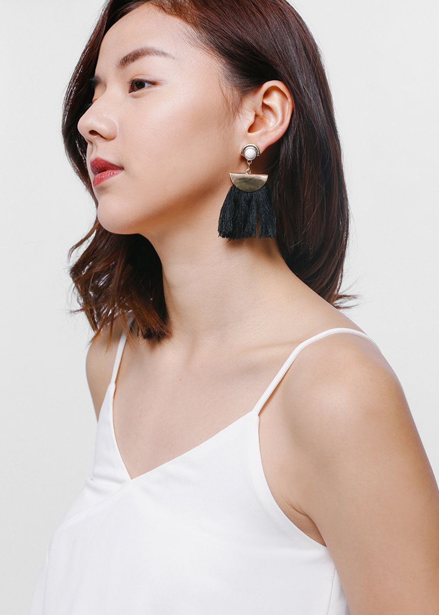 Elhyn Tassel Earrings