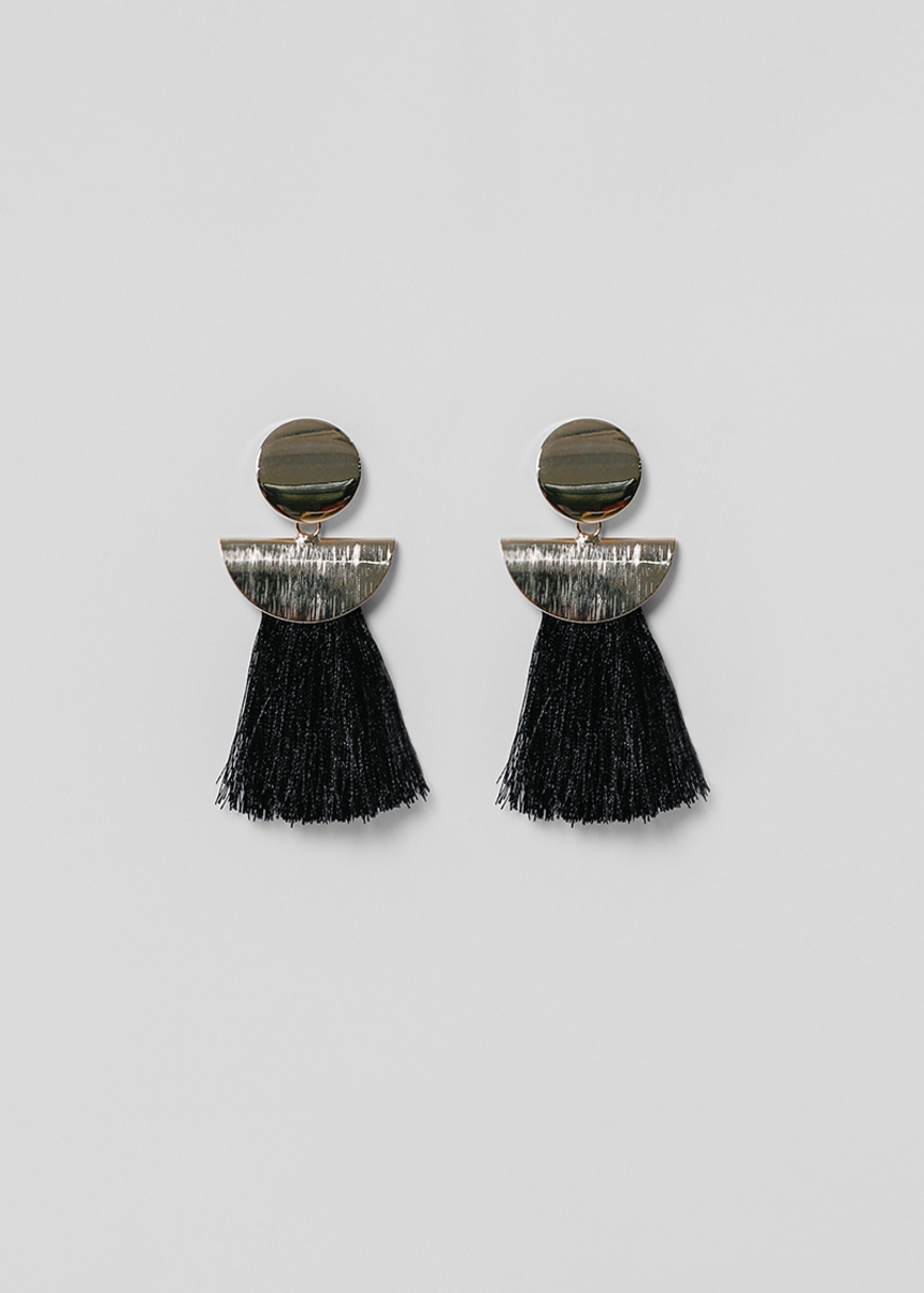 Esfrid Tassel Drop Earrings