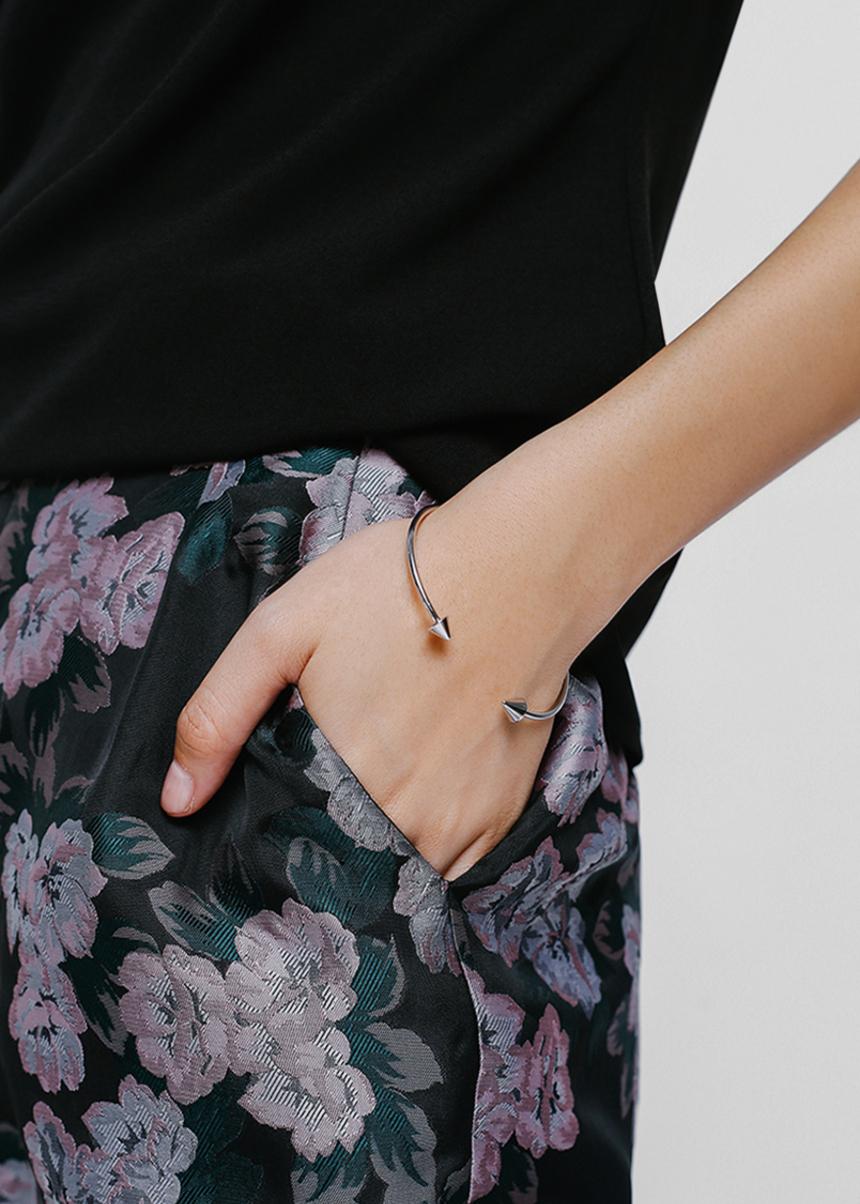 Brikko Stud End Cuff Bracelet