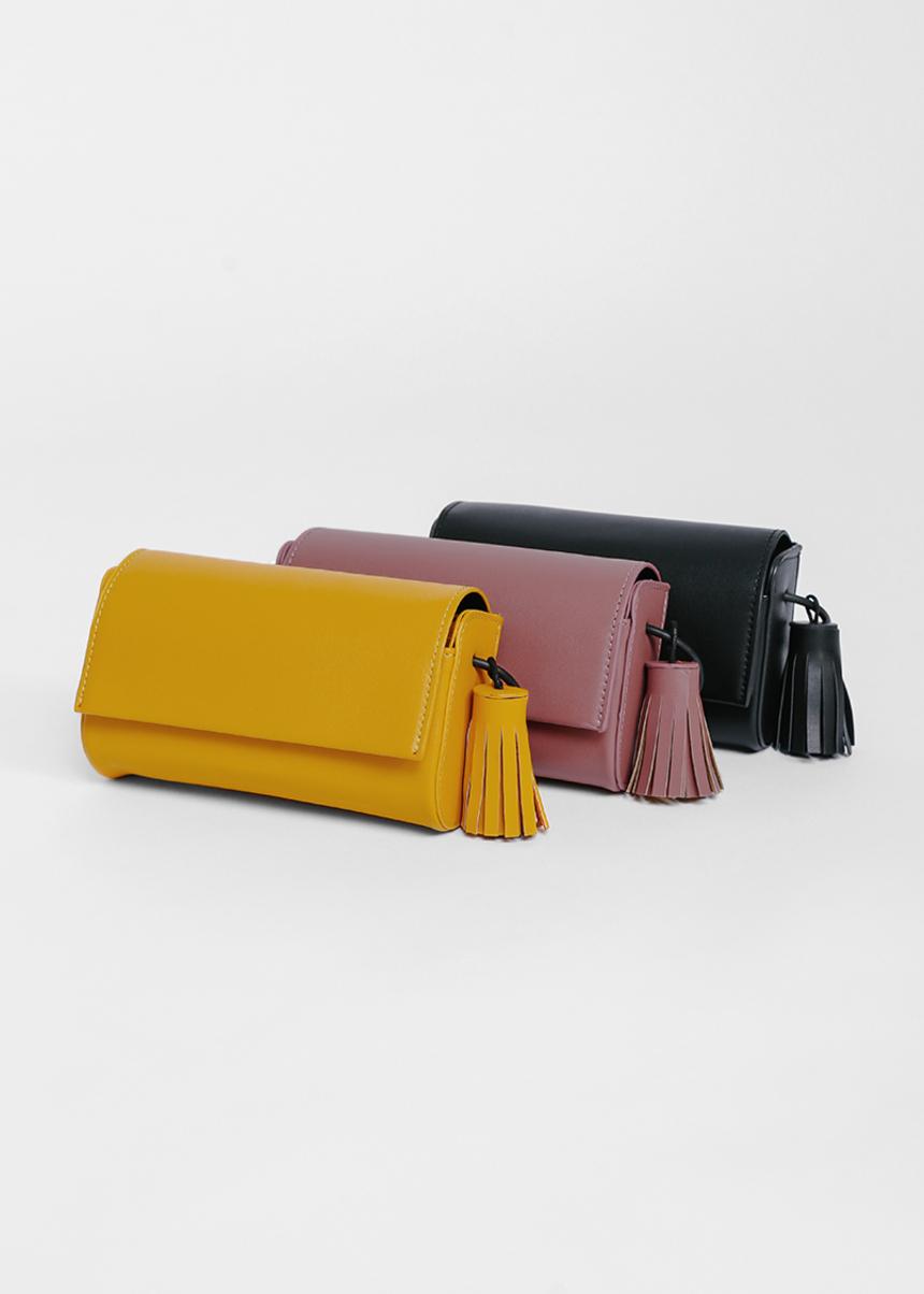 Baerie Tassel Crossbody Bag