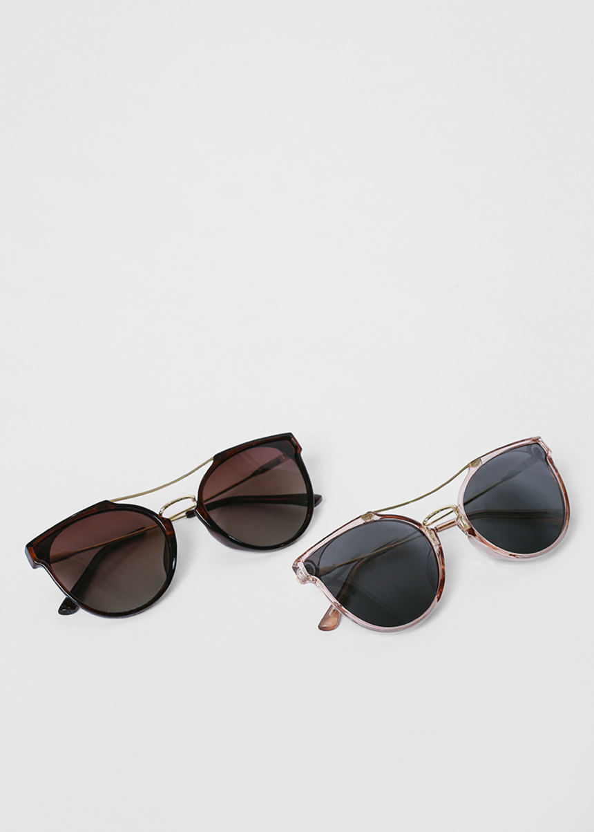 Salzanne Geometric Cat Eye Sunglasses