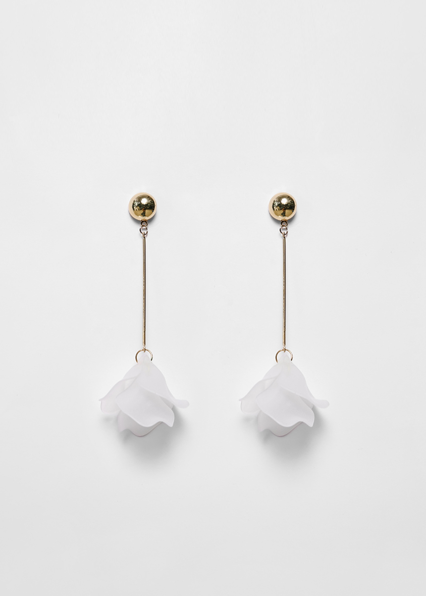 Lilien Petal Drop Earrings