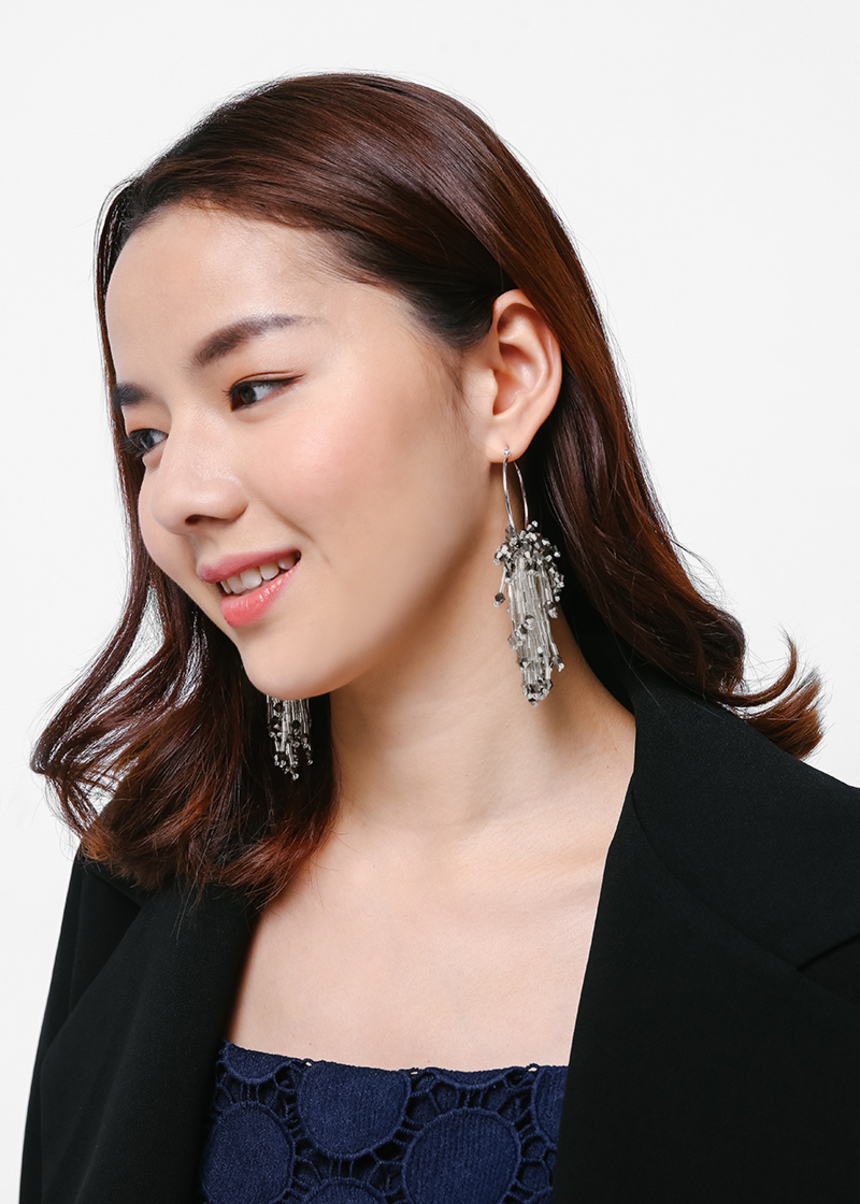 Egretti Embellished Earrings