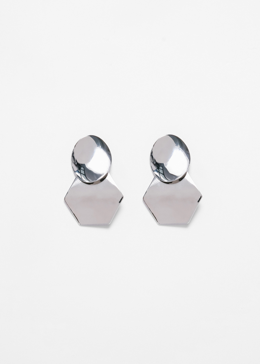 Gergeia Geometric Drop Earrings