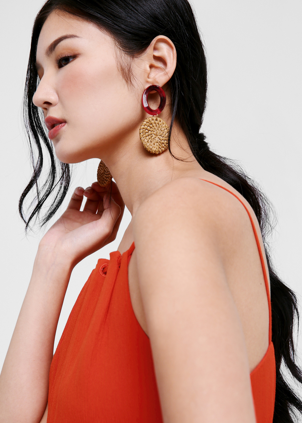 Leona Woven Earrings
