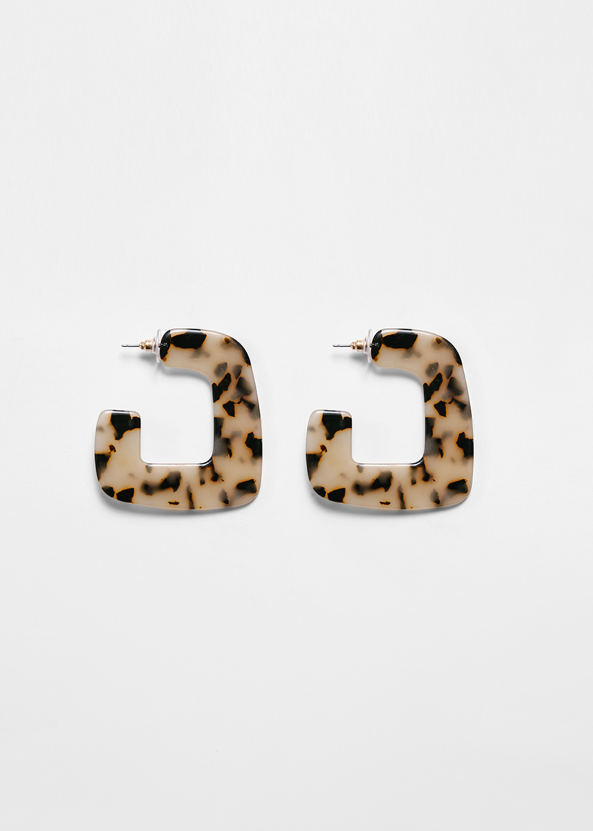Venici Tortiseshell Earrings