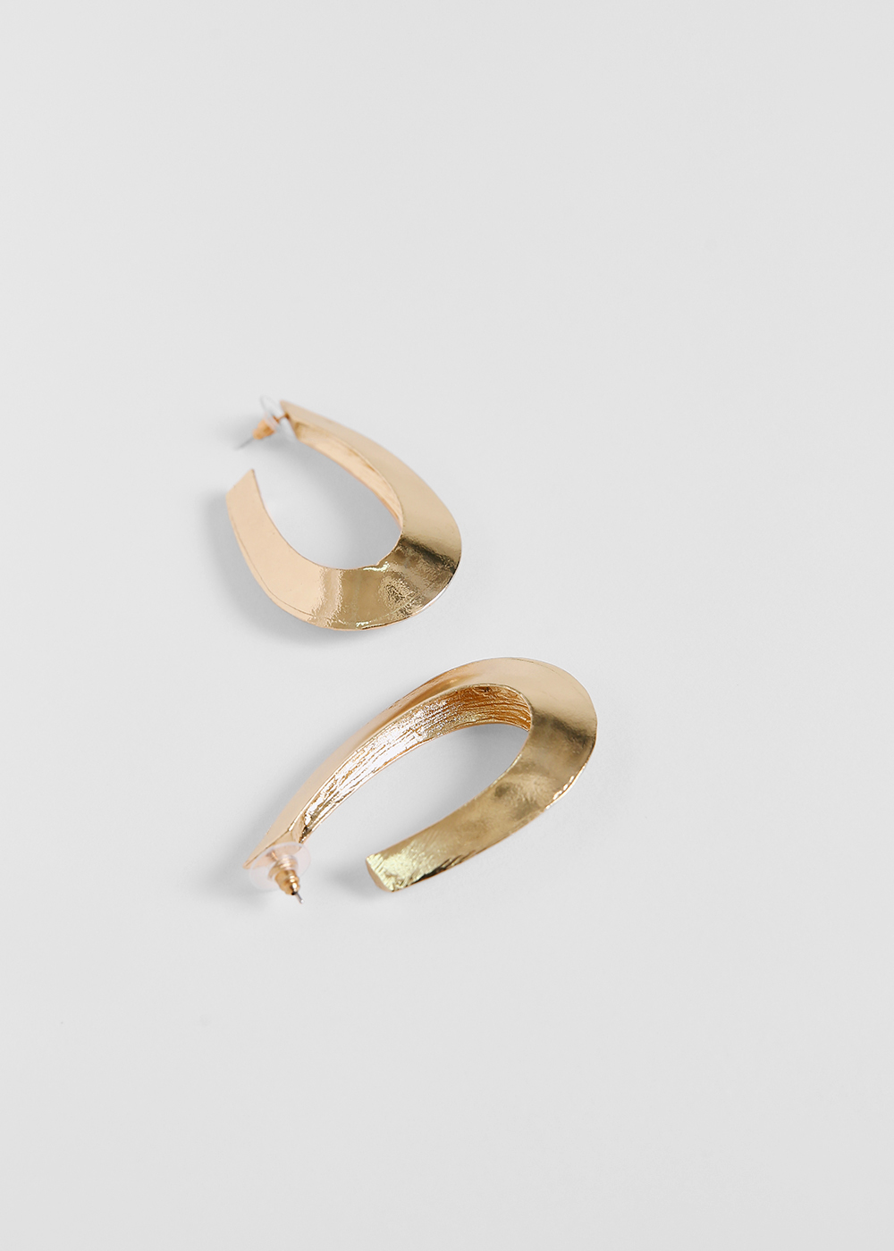 Langley Gold Hoop Earrings