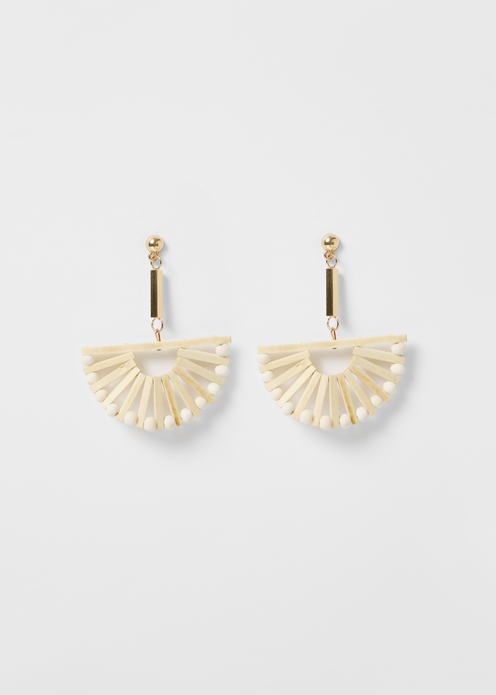 Dyonne Fan Earrings