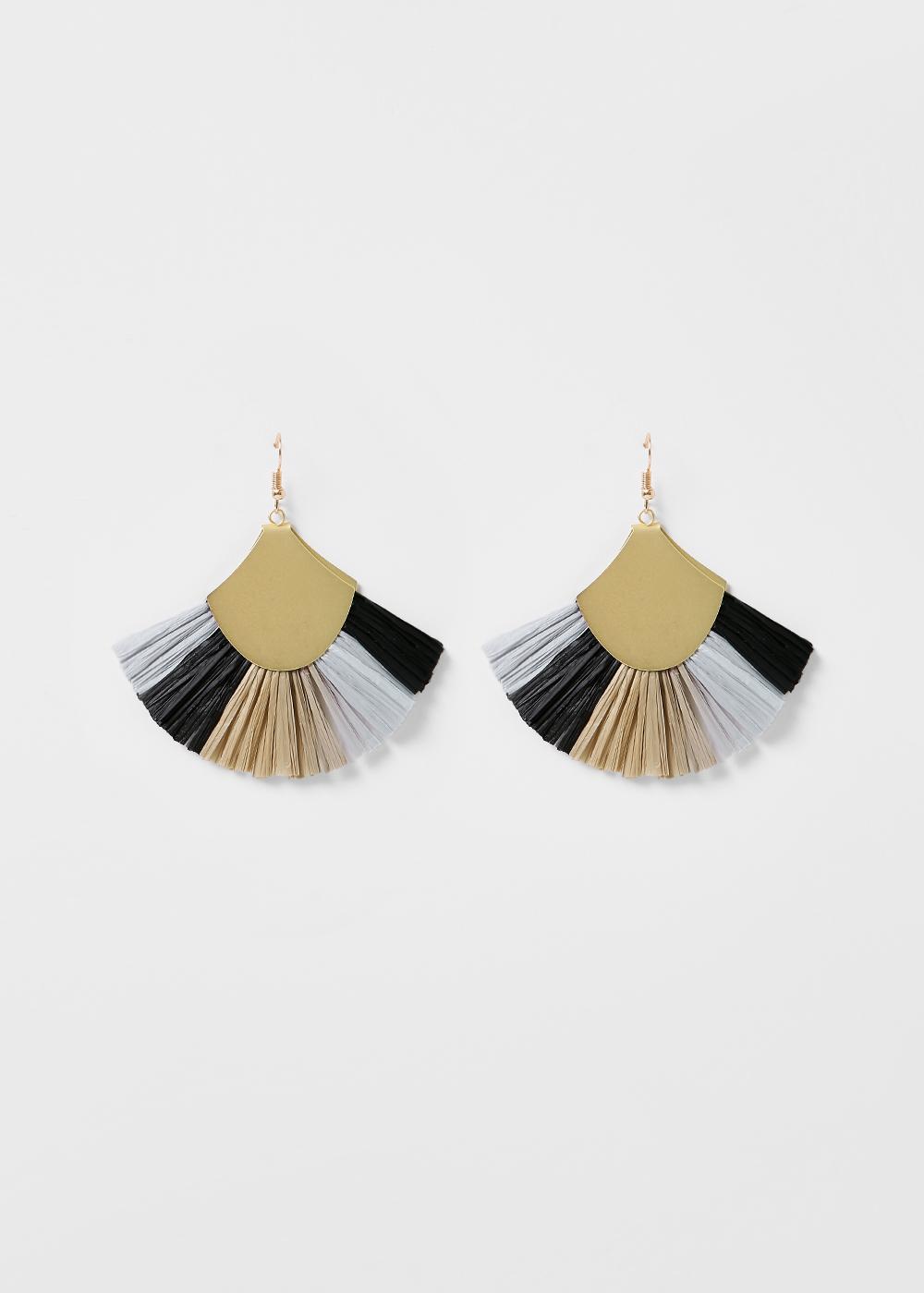 Dakirah Tassel Fan Earrings