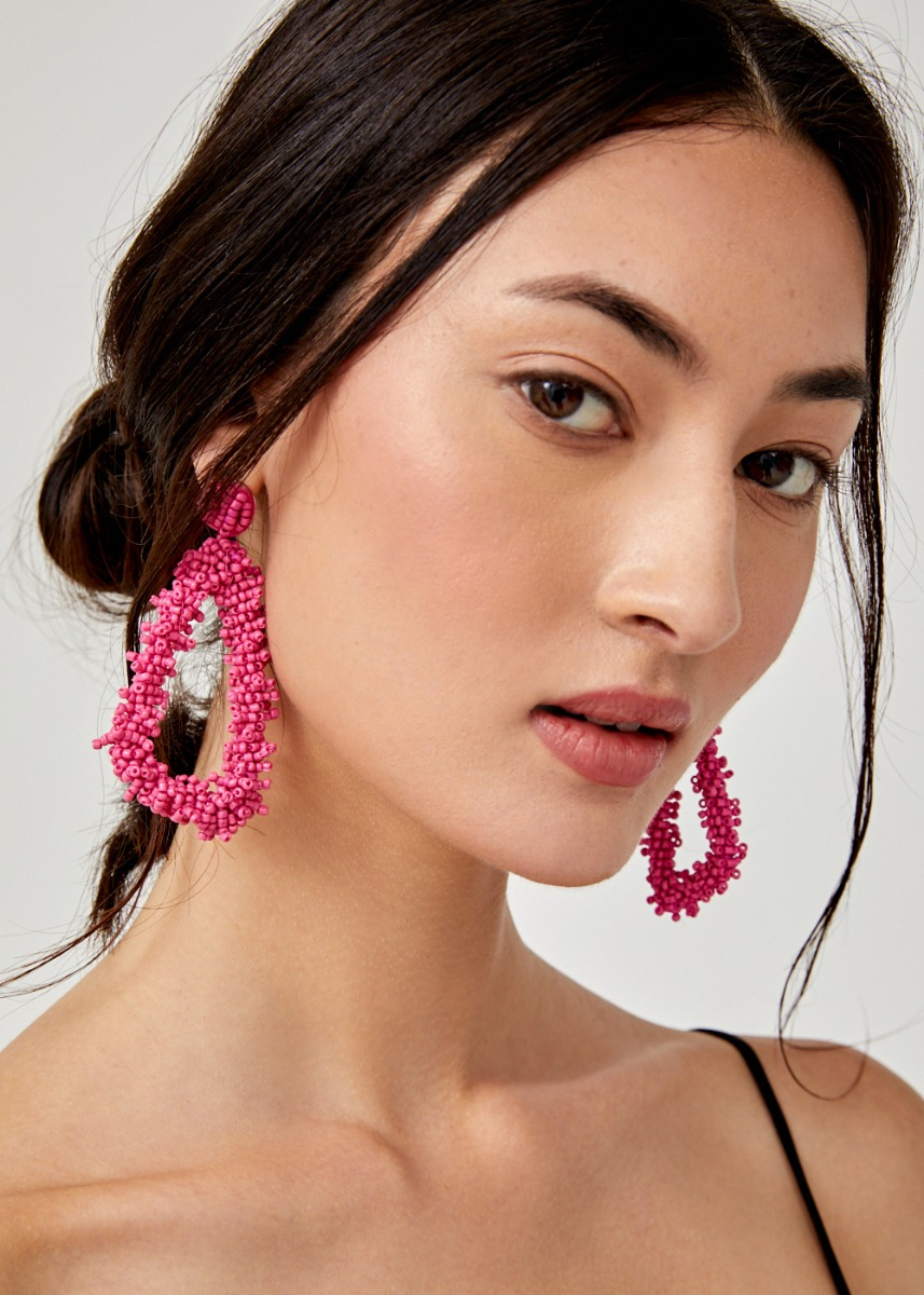 Braelynn Beaded Earrings