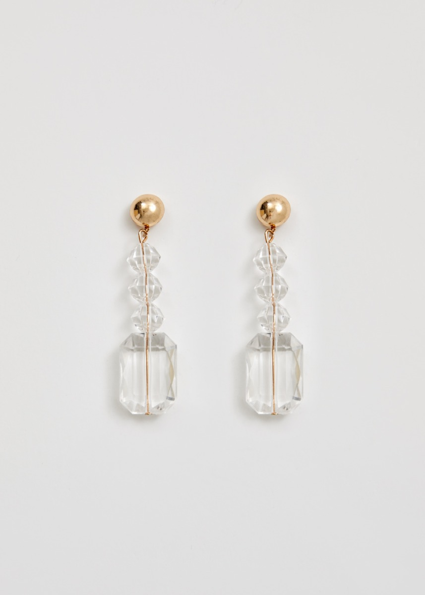 Julie Crystal Drop Earrings