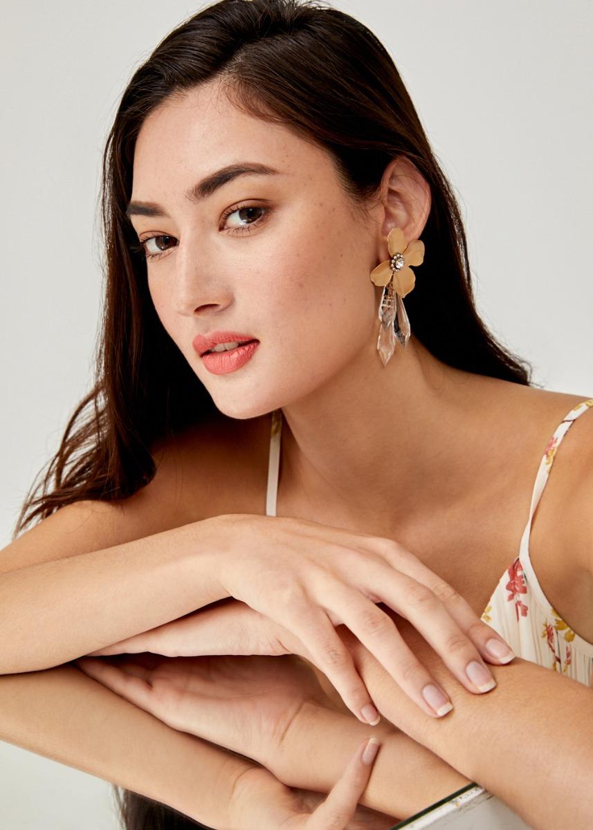 Sylvie Flower Earrings