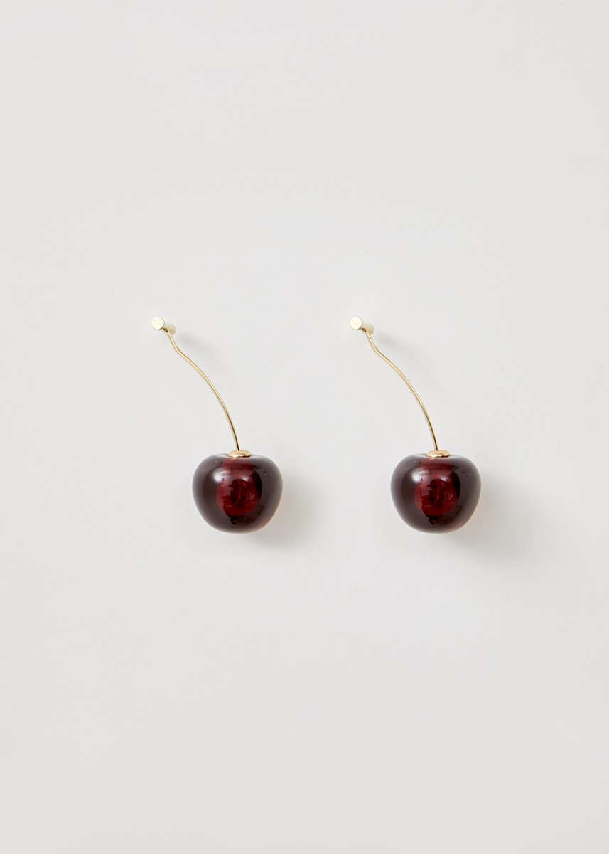 Addison Cherry Drop Earrings