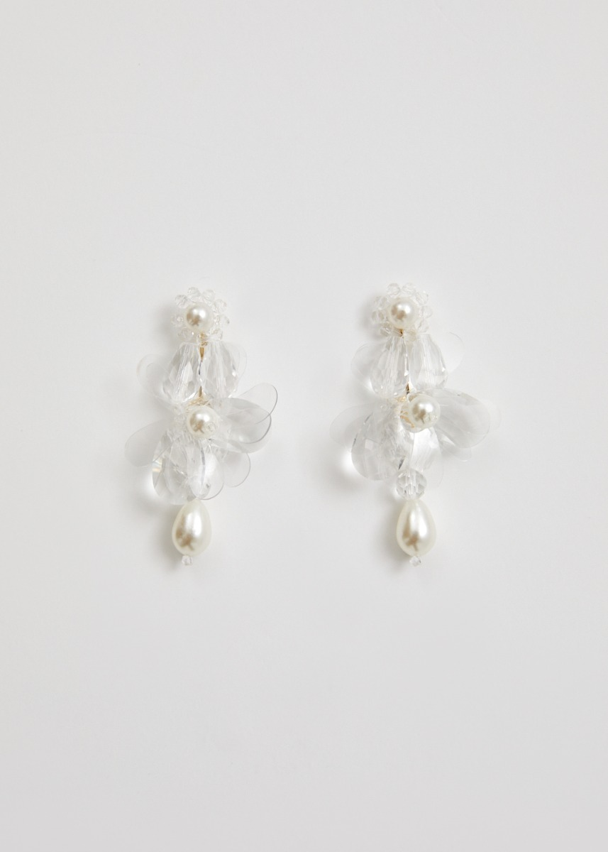 Johanna Crystal Earrings