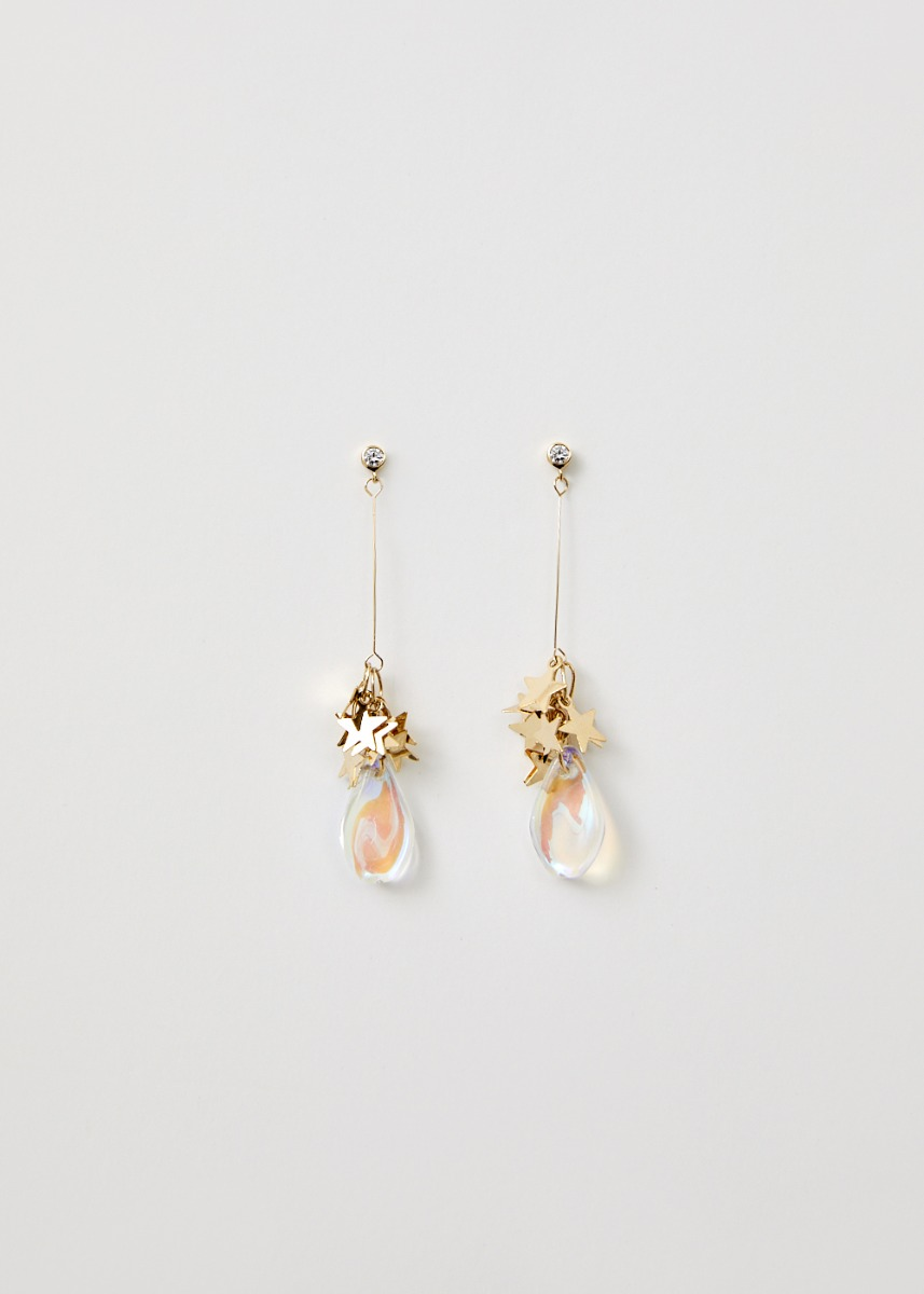Bethel Star Drop Earrings