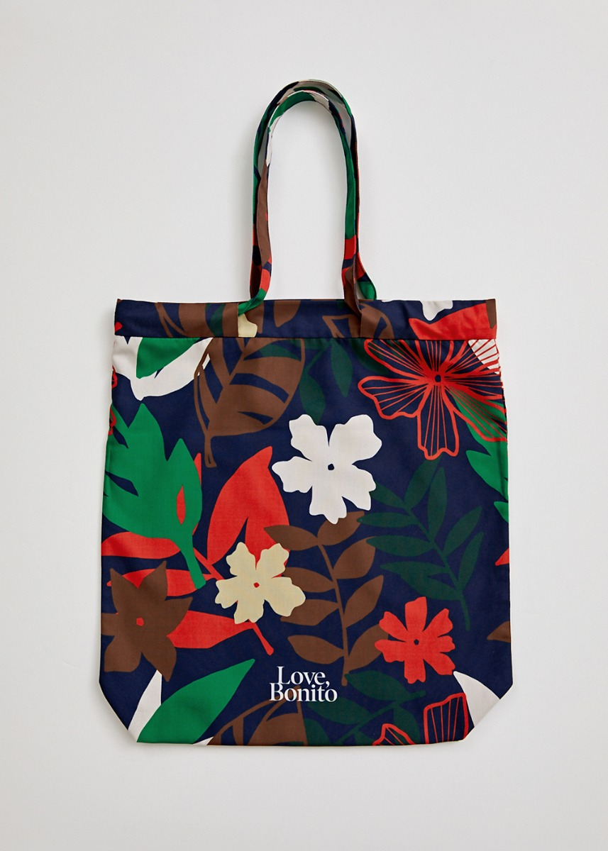 Multi-functional Tote Bag in Tropicana Dream