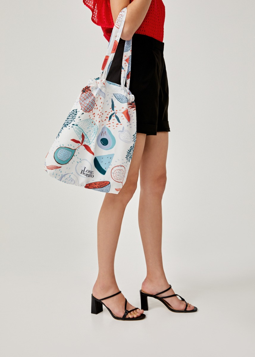Multi-functional Tote Bag in Fruity Punch