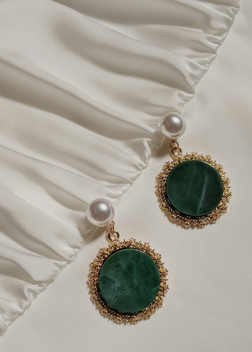 Celesta Marble Earrings