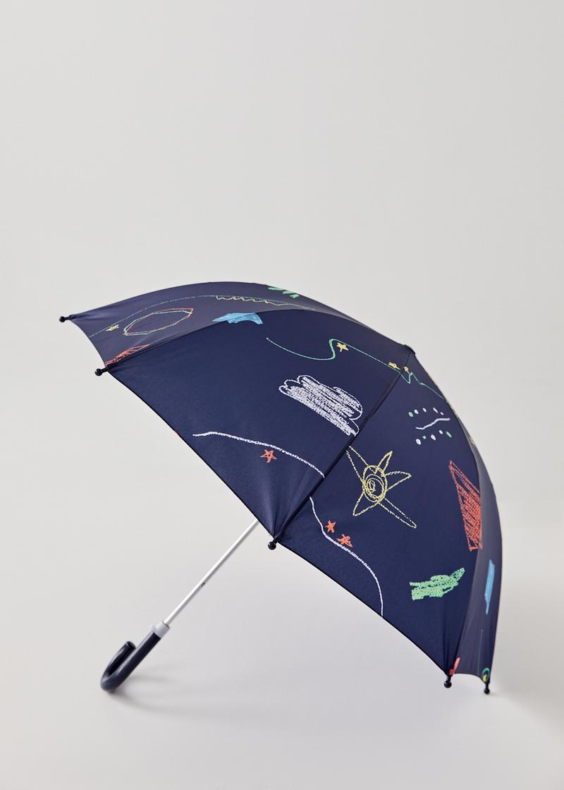 Eli Umbrella in Sunny Scribbles