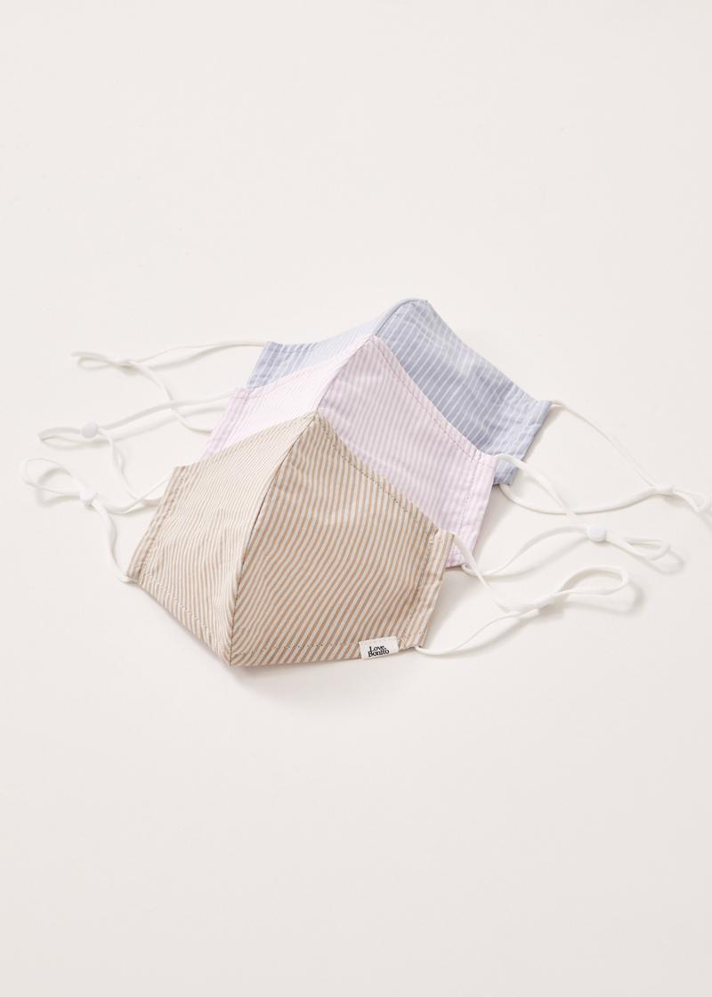 Rumi Striped Cotton Mask (Adult)