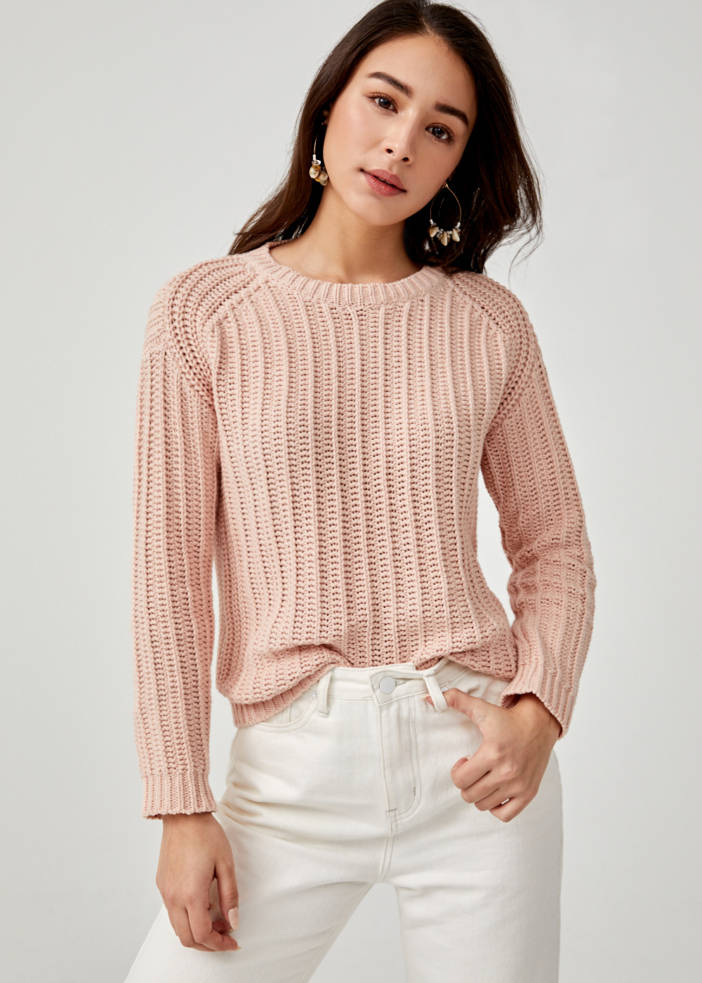 Thesally Knit Sweater