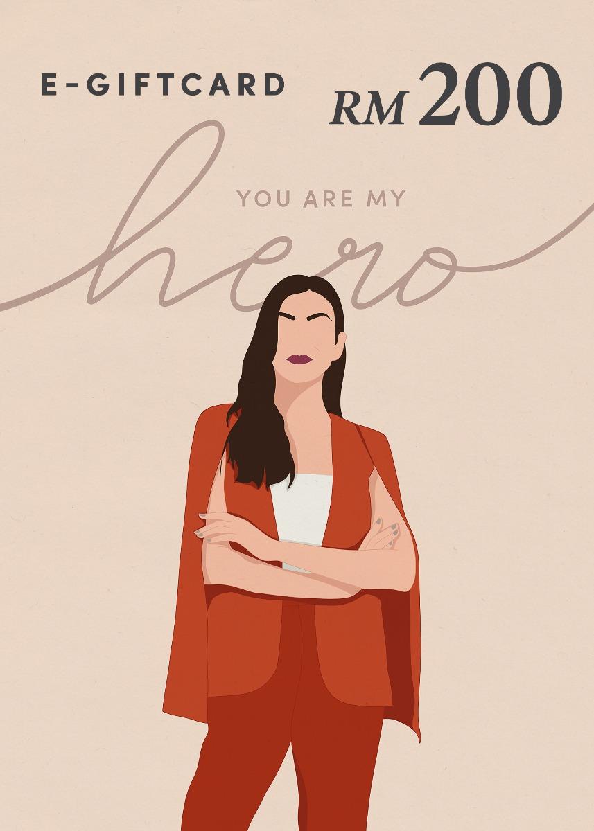 Love, Bonito e-Gift Card - You Are My Hero - RM200