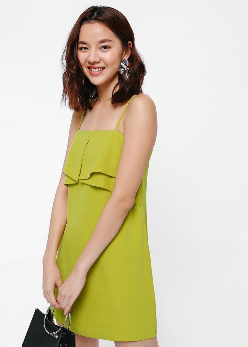 Miranna Ruffle Slip Dress
