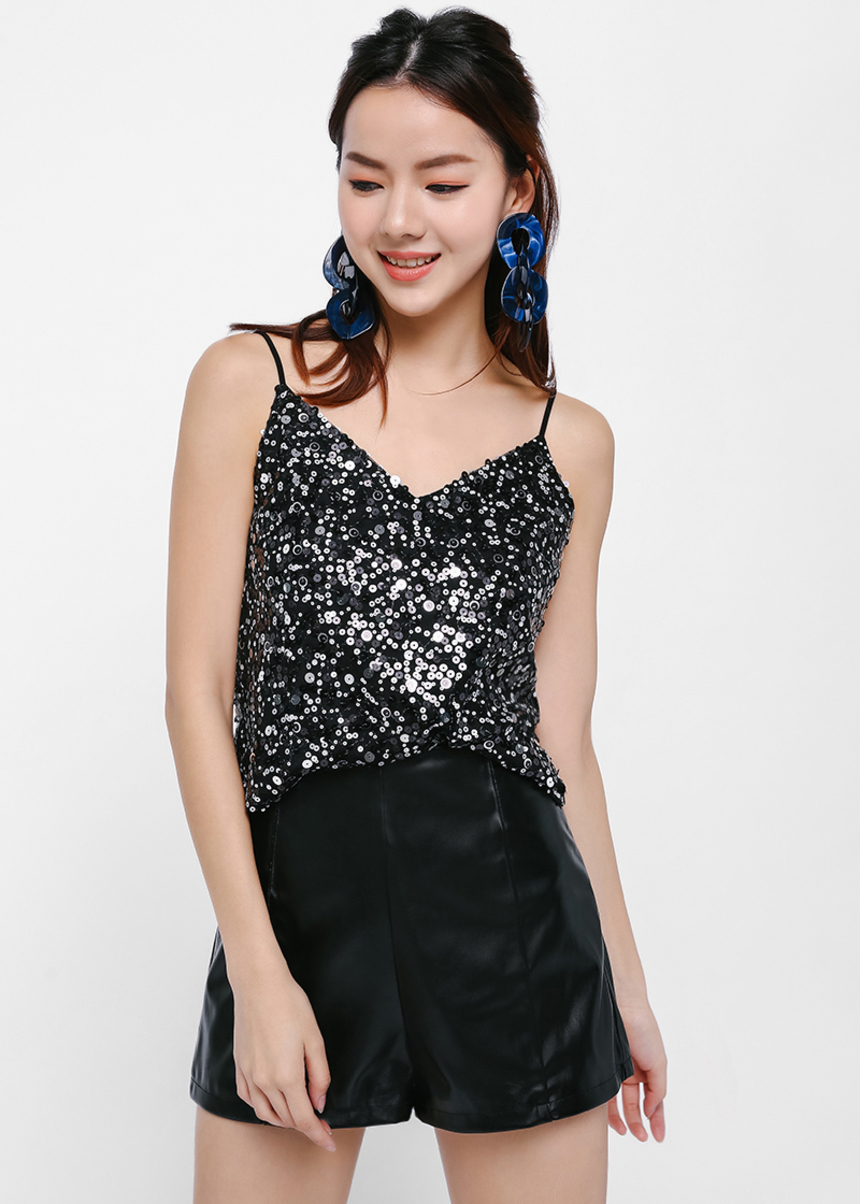 Morgan Sequin Camisole