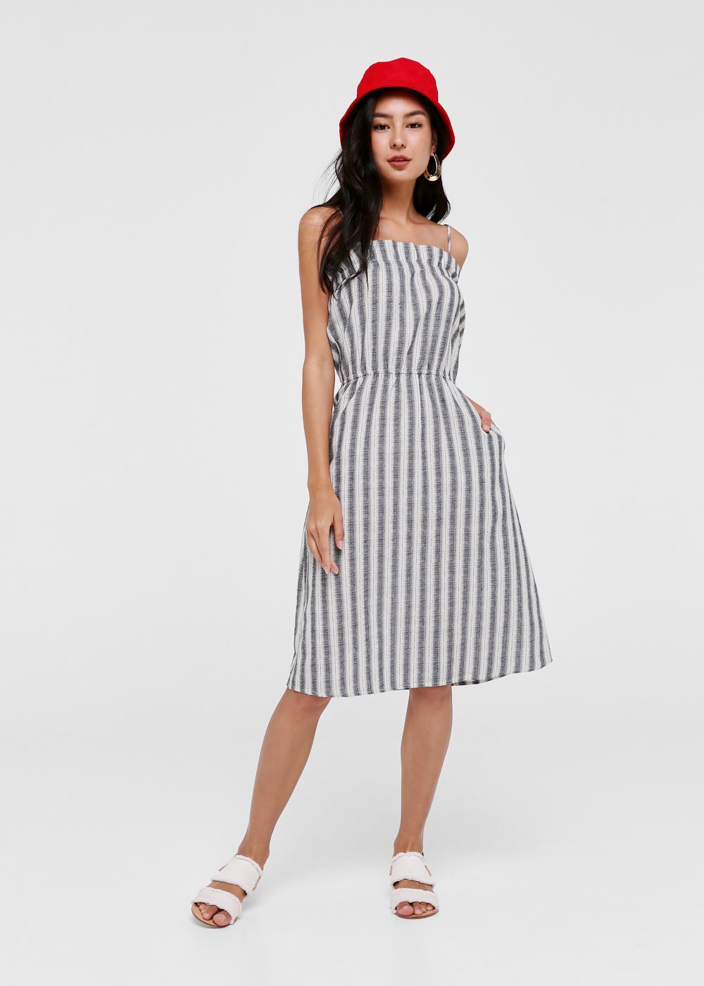 Liesa Striped Beach Dress