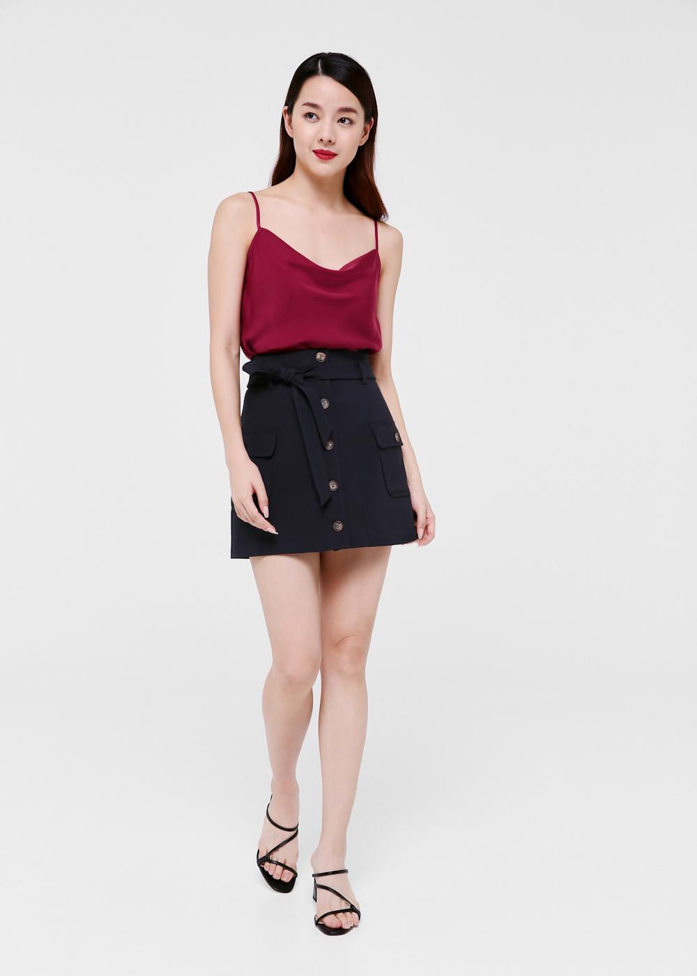 Mireya Utility A-line Skirt