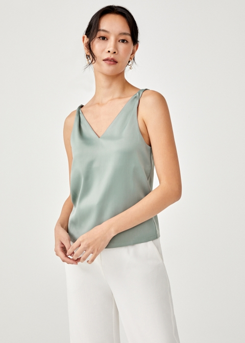 Indre Satin Twist Camisole