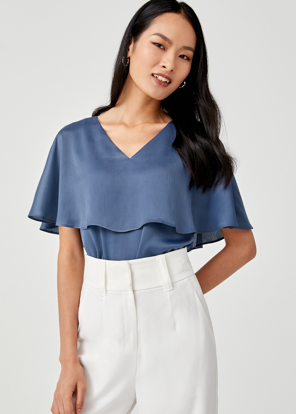 Maxima Cape Overlay Top