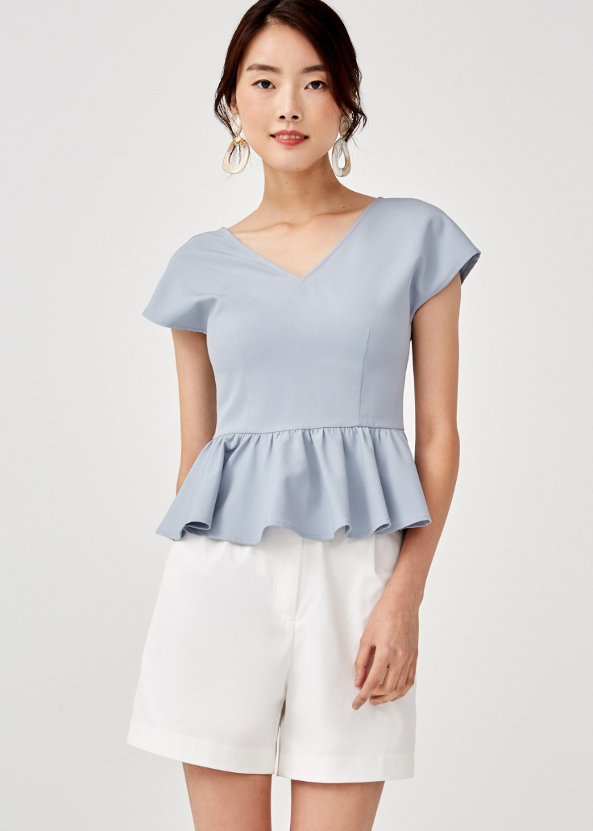 Romilly Peplum Top