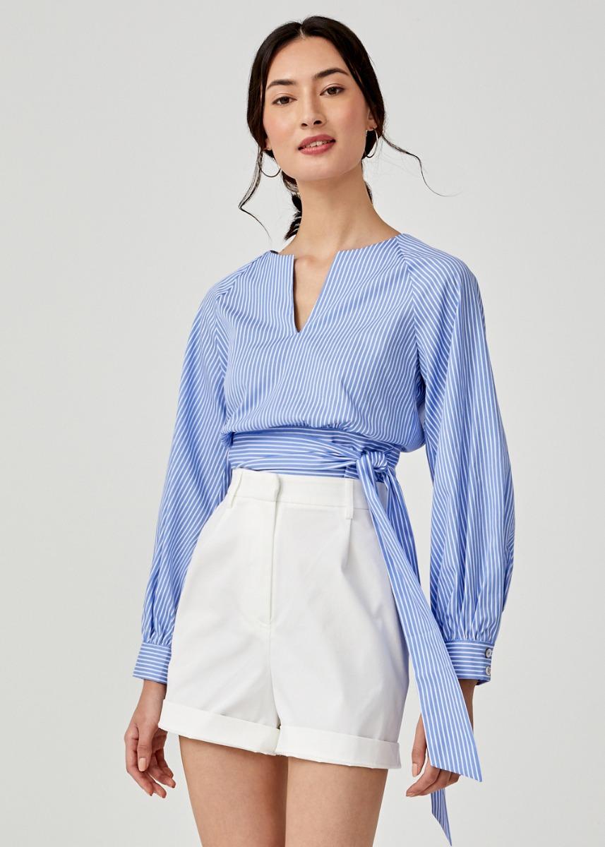 Victoria Ribbon Tie Blouse