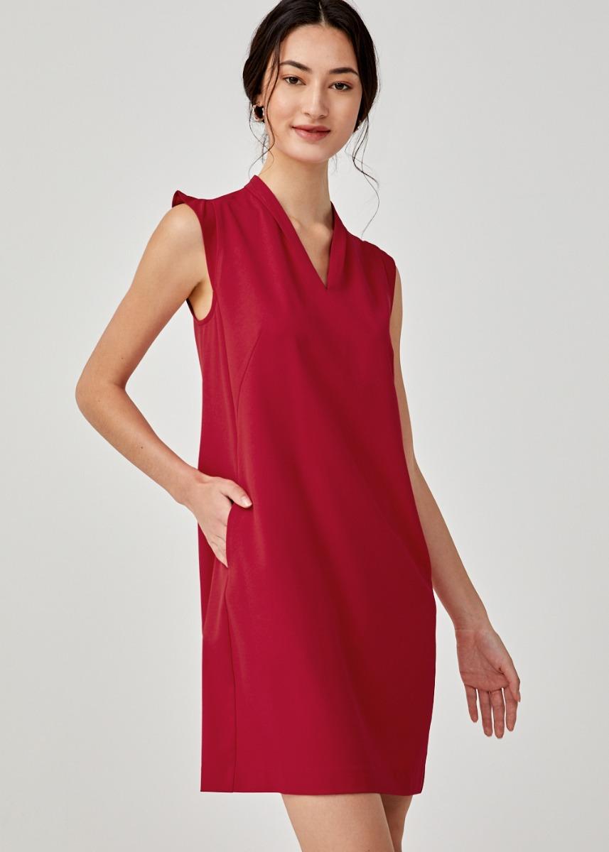 Agatha Cap Sleeve Shift Dress