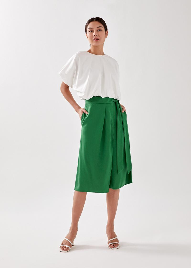 Rayni Front Wrap Culottes