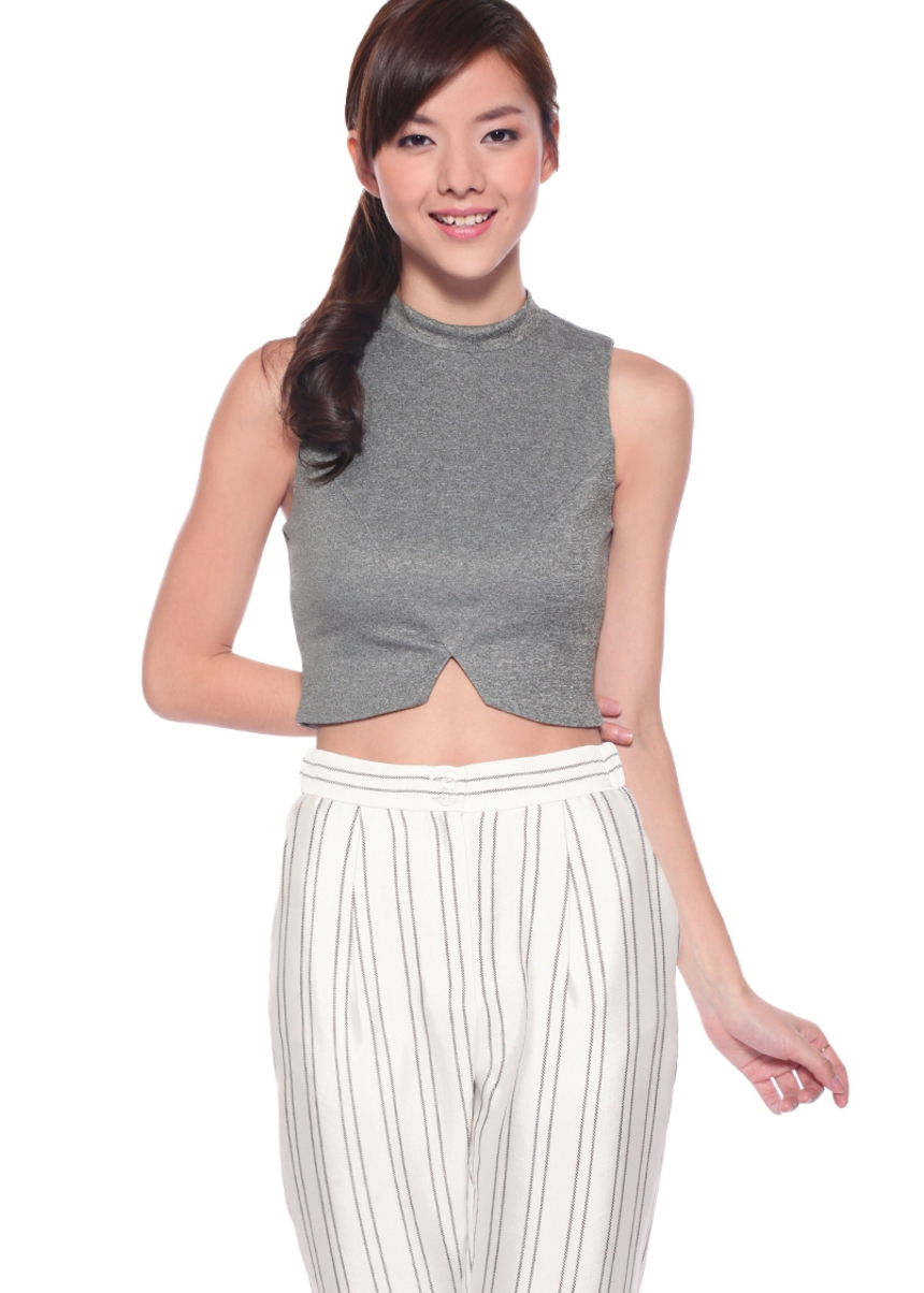 LB BASICS Tahlia Crop Top