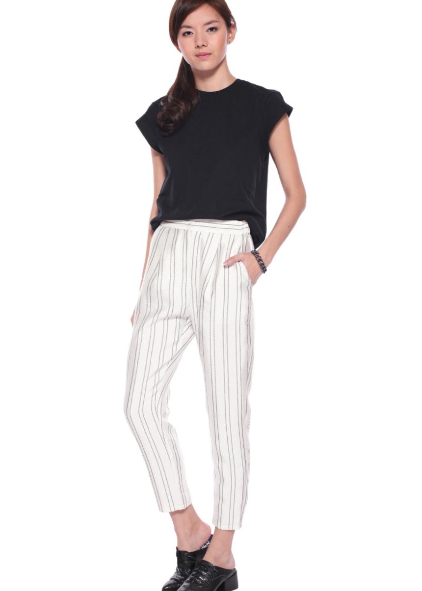 Phara Striped Pants