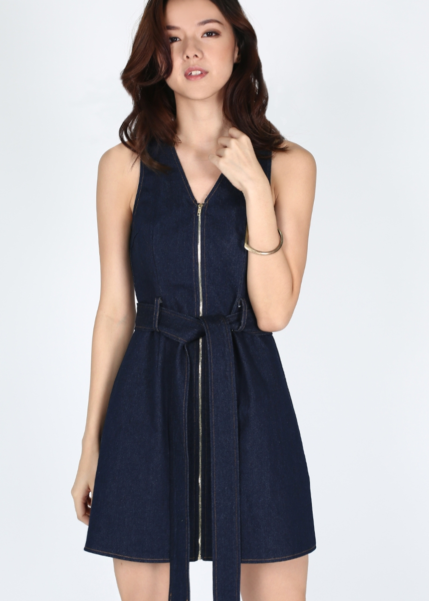 Dawnika Denim Mini Dress
