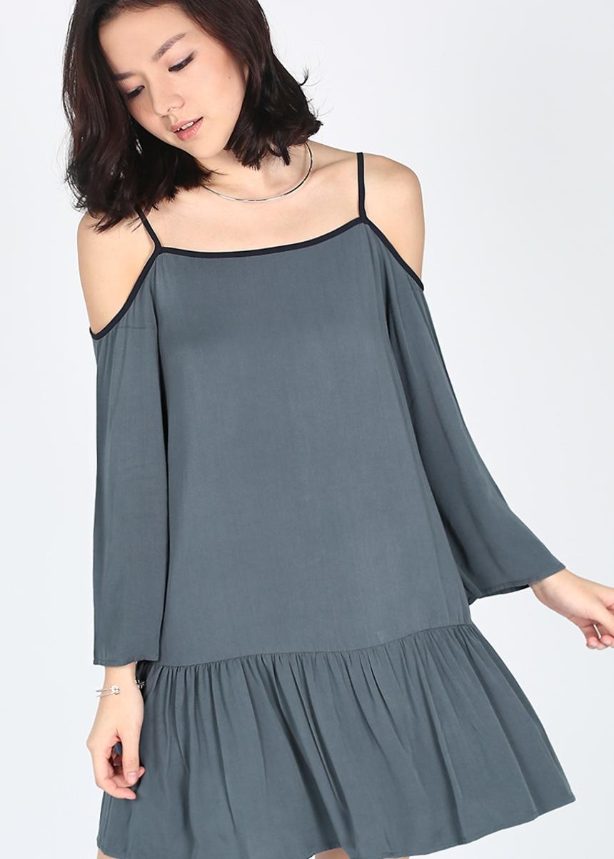 Aldana Off Shoulder Dress