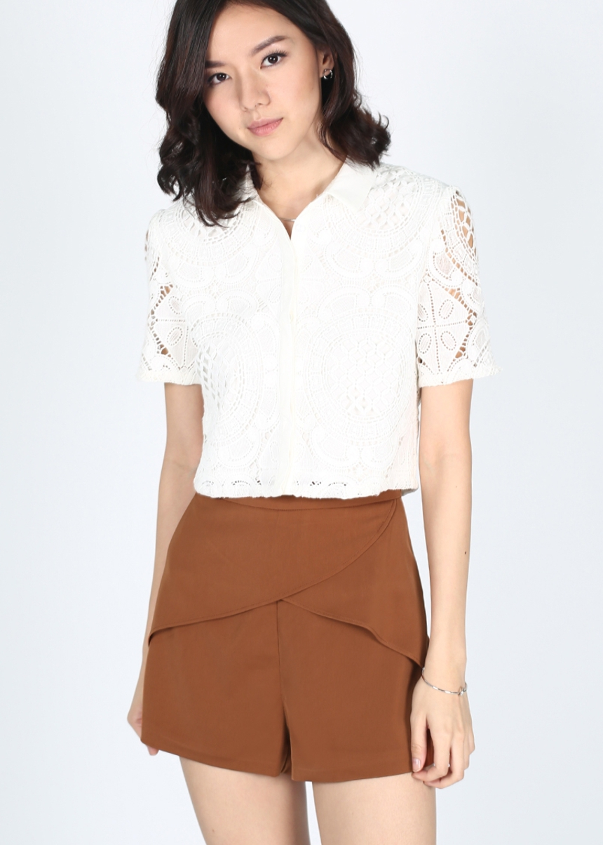 Lanneke Layered Shorts
