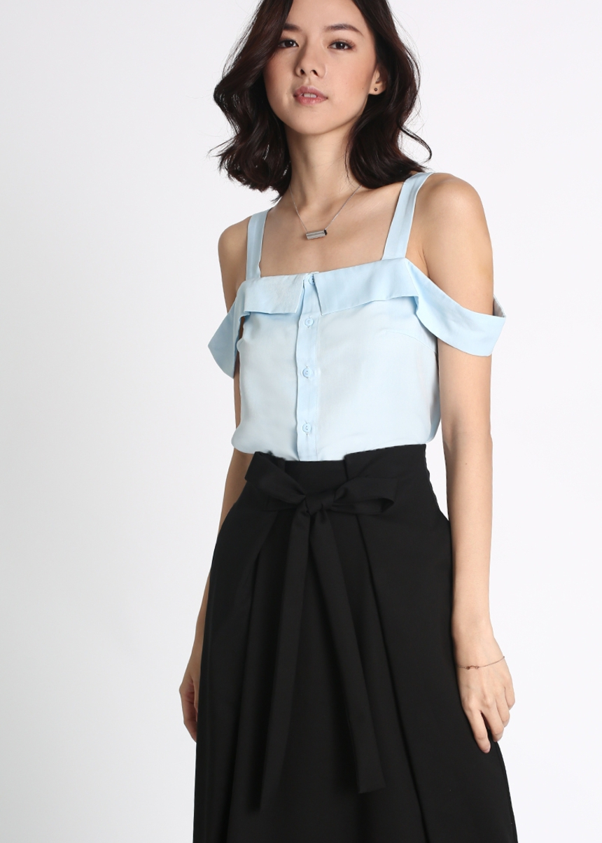 Hyllier Off Shoulder Top