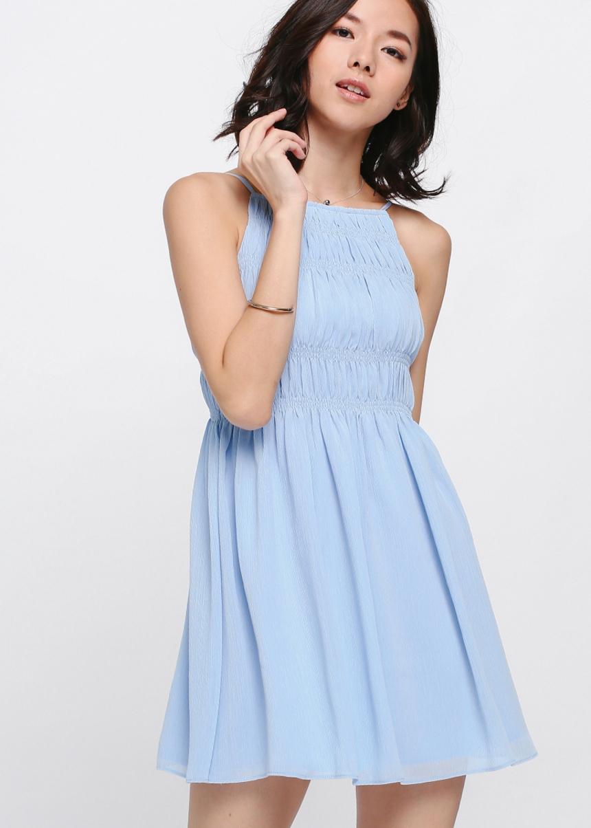 Anje Smocked Dress