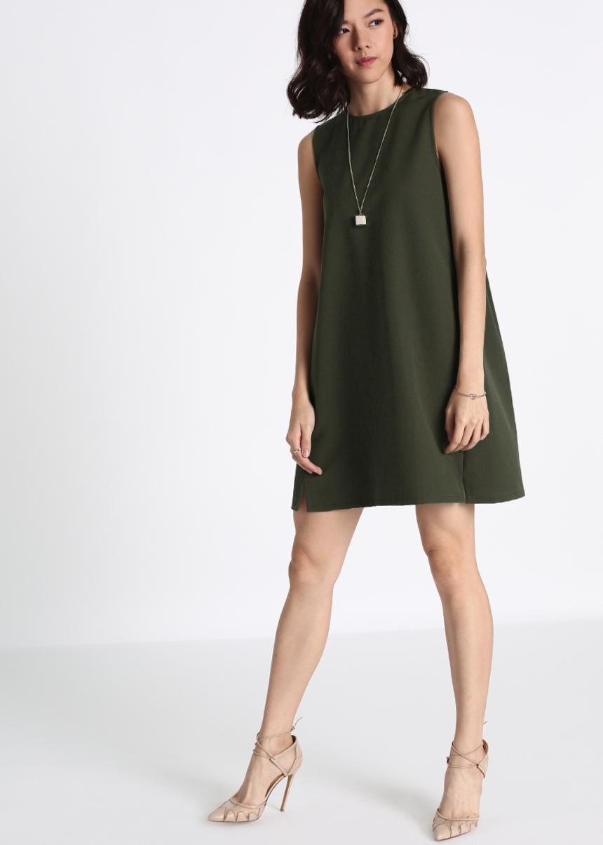 Halyna Slit Dress
